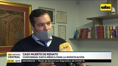Conforman junta médica para investigación del caso Renato
