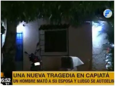 Feminicidio en Capiatá: Mató a su esposa a puñaladas frente a su nieto