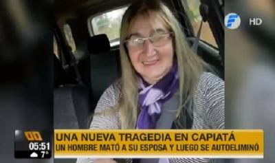 Feminicidio y posterior suicidio se registra en Capiatá