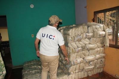 San Pedro: Incautan azúcar, pollo, detergente y bebidas alcohólicas que habrían ingresado de contrabando