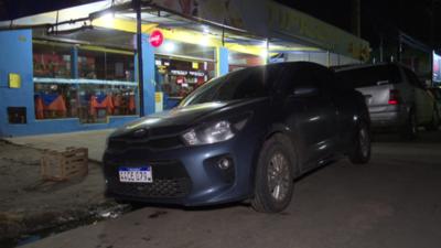 Conductor de Uber fue baleado en Mariano Roque Alonso