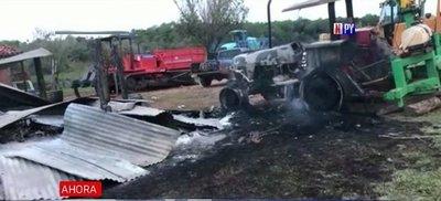Atacan estancia en Canindeyú
