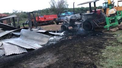 Sospechan que campesinos sin tierra atacaron estancia en Yasy Kañy