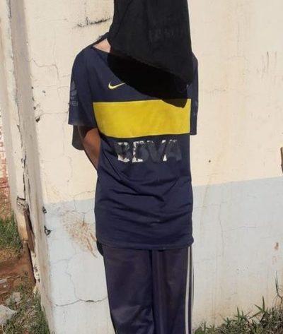 Detenido tras robar aceite y feijao a una septuagenaria