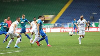 Braian Samudio marcó en la victoria del Rizespor
