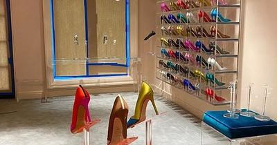 Sarah Jessica Parker inauguró su tienda de calzados en Nueva York