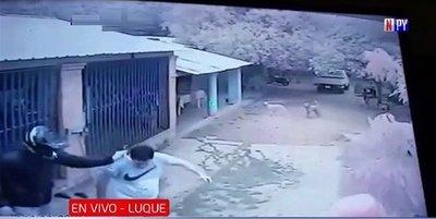 Violento asalto de motochorros a una despensa