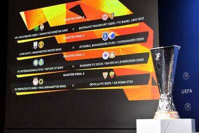La Europa League definió las llaves de los cuartos de final
