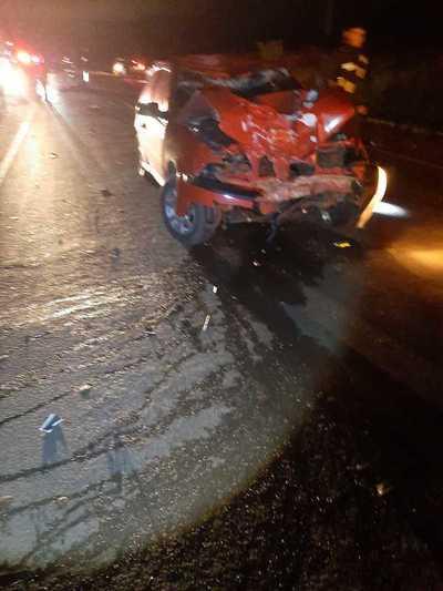 Motociclista muere en choque frontal contra un automóvil en Santa Rita