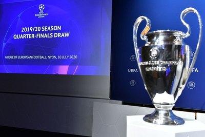 La UEFA sorteó los cruces de cuartos de final de la Champions