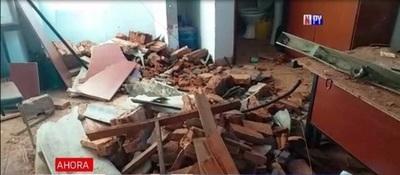 Derrumbe en la Fiscalía de Caazapá deja 3 heridos – Prensa 5