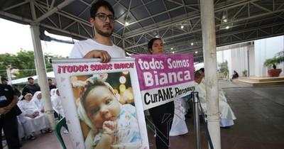 Organizan jornada solidaria de 10 horas en Ñemby para ayudar a Bianca