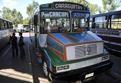 Reportan contagios en Caraguatay tras positivo de chofer de bus