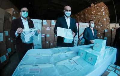 Arribaron al país insumos médicos por valor de US$ 1,1 millones