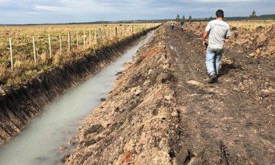 Intervienen construcciones realizadas de manera irregular en las adyacencias del río Monday – Diario TNPRESS