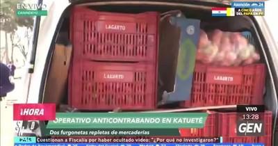 Comerciante compró huevos y tomates ilegales de frutería de Canindeyú