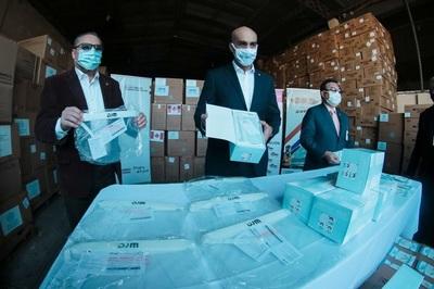 Salud recepcionó dos importantes cargas de equipos de bioseguridad