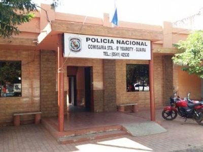 Cierran comisaría de Villarrica ante caso positivo de Covid-19