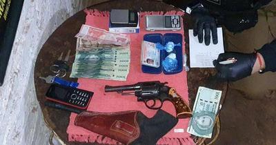 Detienen a presunto traficante de drogas en Ñemby
