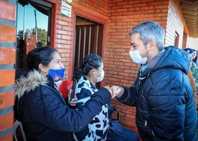 Obras públicas permitirán sostener el empleo, asegura Abdo Benítez