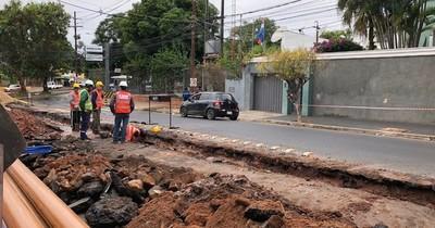 Continuarán rehabilitación de alcantarillado sanitario en Asunción