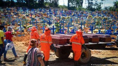 Brasil registra 968 muertes por covid-19 y supera los 1,8 millones de casos