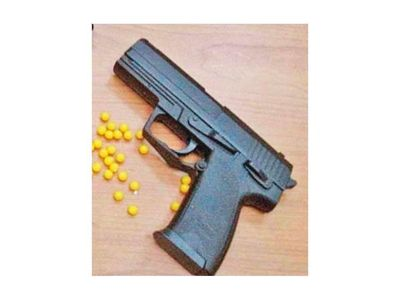 Financiera fue asaltada con arma de juguete