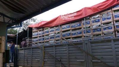 Banana paraguaya al mercado argentino