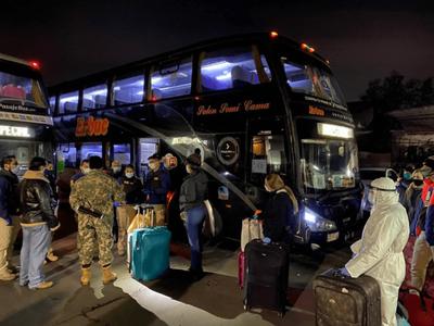 Más de 10 mil compatriotas regresaron al país desde el inicio de la cuarentena