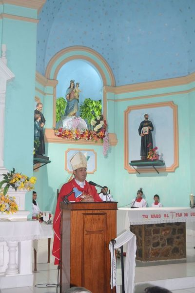 En el Chaco, obispo pide acabar con el saqueo del dinero público