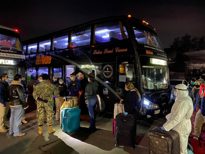 Suman 1.000 los connacionales que llegarán a Paraguay