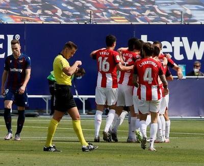 La victoria pone a Bilbao en zona de Europa League