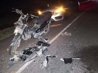 GRAVE ACCIDENTE SOBRE RUTA 8 DEJA DOS HERIDOS SAN PEDRO DEL PARANÁ