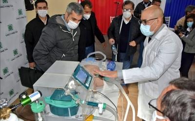 EBY pone a disposición del Gobierno un prototipo de respirador de emergencia