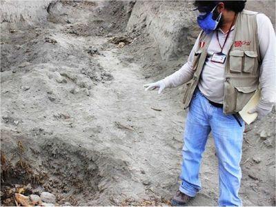 Policía peruana frena destrucción de sitio arqueológico por agricultores