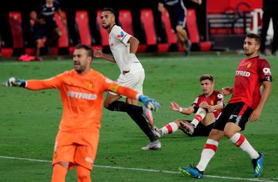 El Sevilla no afloja y complica cada vez más al Mallorca