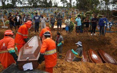 América Latina y el Caribe es la segunda región del mundo con más muertos por COVID