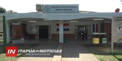 FUNCIONARIA DEL HOSPITAL RESPIRATORIO IPS SERÍA EL NUEVO POSITIVO EN ENCARNACIÓN.