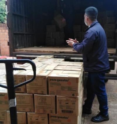 Entregan equipos de protección personal a servicios de salud en Alto Paraná