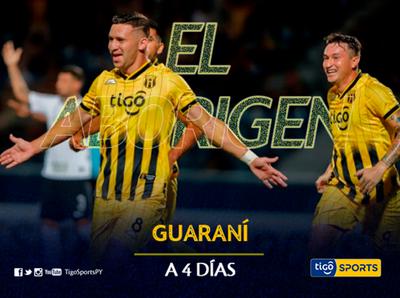 Guaraní regresa dispuesto a pelear por todo