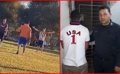 Detienen al joven que disparó su ex cuñado en una cancha