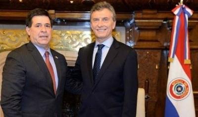 Macri se reunirá con Cartes bajo protocolo establecido, asegura ministro