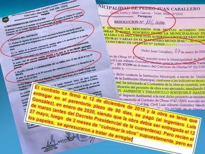 Corrupción: Obra fantasma en la Matadería Municipal de Pedro Juan Caballero