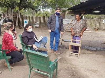 Crédito Agrícola evalúa asistencia para pobladores de Bahía Negra