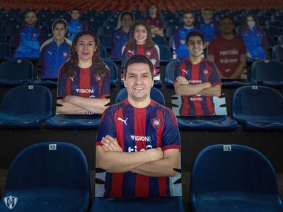 Cerro y otra novedosa iniciativa para acompañar al equipo
