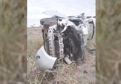 Dos militares mueren en terrible accidente