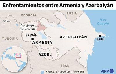 Crisis en frontera azerbaiyano-armenia