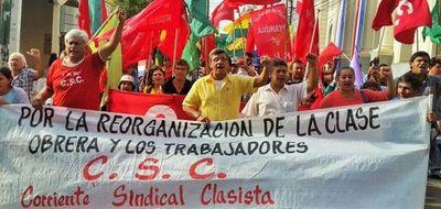 Corriente Sindical Clasista condena el retraso del tercer pago del subsidio del IPS