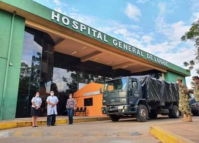 Reportan primer caso de Covid-19 en el Hospital de Luque • Luque Noticias