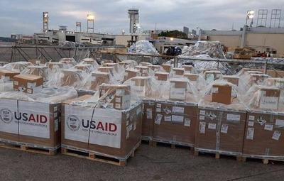 Salud recibió los primeros 50 respiradores donados por Estados Unidos